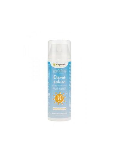 'o Sole Bio Crema Solare Alta Protezione SPF 30 - La Saponaria