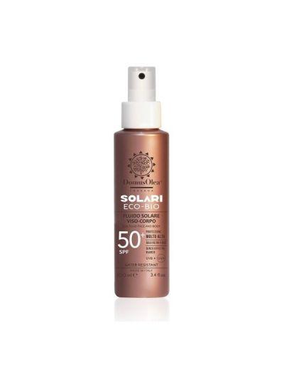 Fluido Solare Viso - Corpo SPF 50+ - Domus Olea Toscana