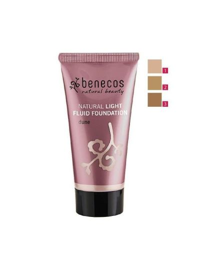 Natural Light Fluid Foundation - Benecos