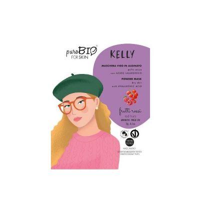 Kelly - Maschera Viso in Alginato Frutti Rossi - PuroBio Cosmetics